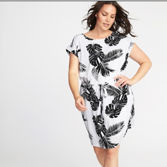 Old Navy Dresses | Waistdefined Plus Size Dress | Poshmark